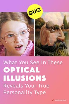 What you see first in these optical illusions and paintings reveals a lot about your personality. Answer quickly to find out now! #OpticalIllusions #OpticalIllusionsQuiz #personalityQuizzes #whoareyou #aboutme #personality #Quizzes #quizzesfunny #quizaboutyourself #funquizzestotake #me #aboutyourself #quizzesaboutyou Color Personality Test, Personality Quizzes, What You See, How To Find Out, Quizzes Funny, Fun Quizzes To Take, Optical Illusions, Paintings, Paint