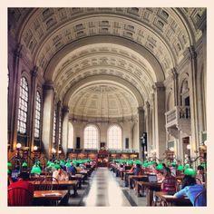 Beautiful Boston Library {love}
