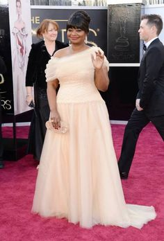 Full+Figure+After+Five+Dresses | octavia spencer - 2013 oscars academy awards best-dressed