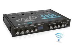 4 Band Parametric Equalizer with Bluetooth Wireless Audio Connectivity