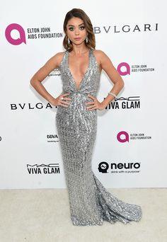 Sarah Hyland look Oscar 2016 - party dress / vestido de festa