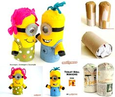 Blog - Toilet Roll Craft- Make a Minion