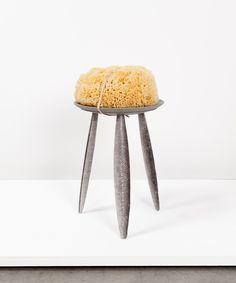 Luisa Zanzani, Salmon Stool, from the series Craftica, 2012. © Studio Formafantasma, drawings developed in collaboration with designer and illustrator, Francesco Zorzi.