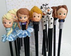 Ponteiras Personagens Frozen
