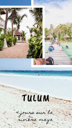 Plages de rêves, ruines mayas et restaurants healthy, mon petit guide pour visiter Tulum et les environs. Tulum, Restaurant Healthy, Riviera Maya, Guide, Restaurants, Instagram, Beach, Water, Outdoor Decor