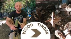 Wood Bundle to Tinder: How we start our campfire when camping - YouTube Camping Stuff, Tinder, Wood, Youtube, Woodwind Instrument, Timber Wood, Trees, Youtubers, Youtube Movies