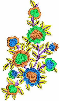 Best Quality Applique Embroidery Design