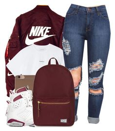 """""""NIKE✔️"""" by chanelesmith51167 ❤ liked on Polyvore featuring art"""