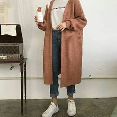 49 Ideas Fashion Hijab Casual Cardigans Shoes - - 49 Ideas Fashion Hijab Casual Cardigans Shoes Source by Casual Hijab Outfit, Hijab Fashion Casual, Muslim Fashion, Korean Fashion, Casual Outfits, Fashion Outfits, Fall Fashion, Fashion Ideas, Modest Fashion