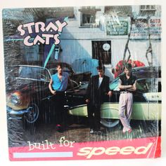 Stray Cats built for Speed record by RockabillyRehab on Etsy