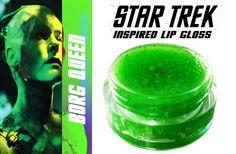Star Trek ~ 'Borg Queen' inspired lip gloss by MerchantofGallifrey