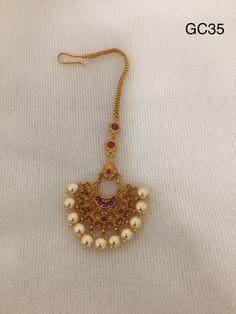 Papidibilla,nethi chutti, mangtikka To order Whatsapp Tikka Jewelry, Gold Temple Jewellery, 1 Gram Gold Jewellery, Pearl Jewelry, Indian Jewelry, Gold Jewelry, Beaded Jewelry, South Indian Bridal Jewellery, Wedding Jewelry
