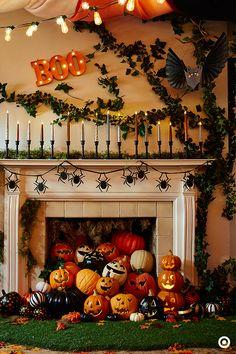 halloween inspirations capture the moment mantels halloween mantel and moment - Halloween Fireplace