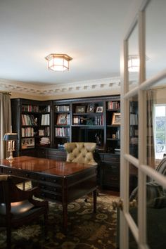Town and Country traditional home office