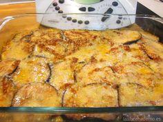 Receta de Berenjenas a la Parmesana con Thermomix: un plato con alto contenido en minerales y vitaminas, que no aporta demasiadas calorías.