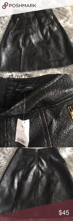 Banana Republic black skirt New with tags. Banana Republic Skirts A-Line or Full