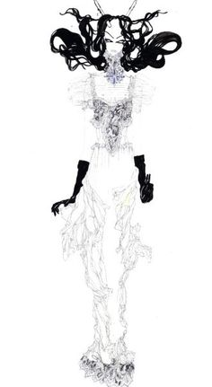 #CHANEL #illustration #fashion German Kobahidze©