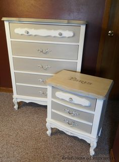 delusions of ingenuity: Dresser makeovers