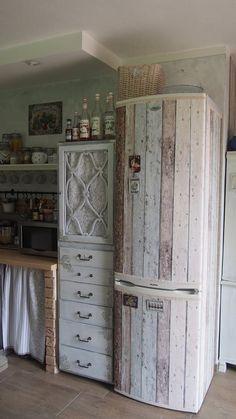 tapeta na lednici