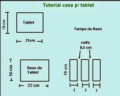 Olá, amigos!   Vamos acrescentar mais um item no nosso rol de produtos manuais?   Case para tablet ou iPad.      Este tutorial veio do Port...