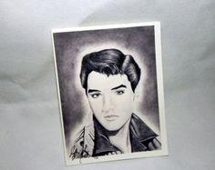 Elvis pencil sketch