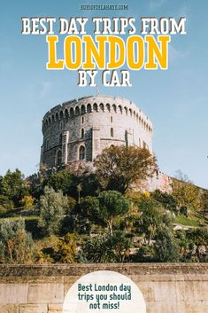 Here are 30 of the best day trips from London from beach towns to historic cities and quaint villages, this guide contains all the best options of easy day trips from London Train Tour, By Train, Beautiful Places To Visit, Cool Places To Visit, London Travel Blog, Travel Plan, Travel Advice, Travel Tips, Day Trips From London