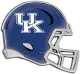 Kentucky Wildcats Auto Emblem - Helmet