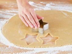 Plätzchenteig zum Kekse ausstechen