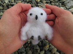 Snowy White Owl - Free crochet pattern by Denton Foreman