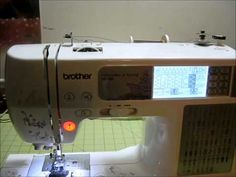 How To Wind a Bobbin on the Brother SE400 Embroidery and Sewing Machine (beginner) - YouTube