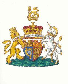 Prince William's Coat of Arms Prince William