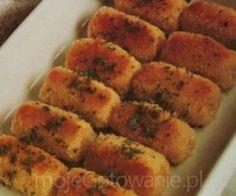 Pieczone krokiety z ziemniaków