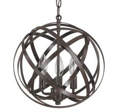 View the Capital Lighting 4233 Axis 3 Light Full Sized Globe Pendant at Build.com.