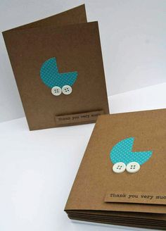 50 Baby Shower Thank You Cards  Baby Boy Thank You by Glued2Paper