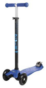 Micro Maxi Kick Scooter with T-bar (Blue) : Sports Kick Scooters : Sports & Outdoors Best Scooter For Kids, Kids Scooter, Maxi Micro Scooter, Micro Kickboard, Trike Scooter, Kids Ride On Toys, Kids Toys, 12 Year Old Boy