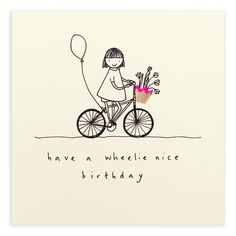 A birthday bicycle basket of best wishes. See other ideas and pictures from the category menu…. Handmade Birthday Cards, Happy Birthday Cards, Birthday Greetings, Birthday Wishes, Diy Note Cards, Diy Cards, Birthday Pencils, Pencil Shavings, Pun Card