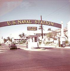 Old Key West - Naval Station entrance