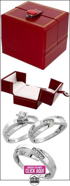 Revoni - Alianza de oro blanco  ✿ Joyas para hombres especiales - lujo ✿ ▬► Ver oferta: http://comprar.io/goto/B003R1MFHK