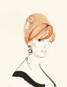 Love this one. So beautifully done. David Downton - Mad Men Joan Holloway