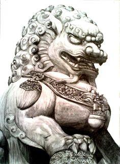 guardian_lion_or_foo_dog_by_imaginecreativmonkey-d6wbsxv.jpg (766×1043)