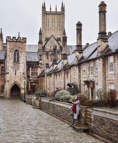 prettylittlelondon on Instagram: Wells, Somerset, England