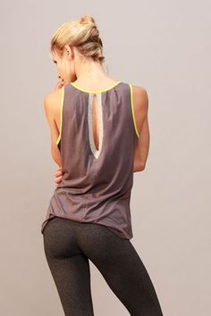 SOLOW - Mini Jersey Colorblock Tank