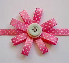 cute ribbon flower