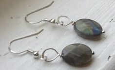 Faceted labradorite