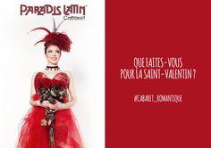 Que faites-vous pour la Saint-Valentin ? #Cabaret_Romantique #SaintValentin  http://www.paradislatin.com/ Encore plus de photos sur notre page facebook  https://www.facebook.com/ParadisLatin https://instagram.com/paradis_latin/ https://twitter.com/Paradis_Latin  #Paradis Latin #Paris