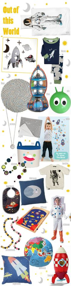 KidStyleFile Roundup: Out of This World – Top 20 Best Space Themed Products For Kids