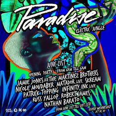 #housemusic Paradise DC-10 Season Announcement: Paradise, Ibiza's ultimate hedonistic experience curated byJamie Jones,has just unveiled…