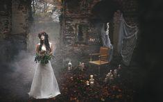 svatba, svatbain, wedding, boho, bride, autumn