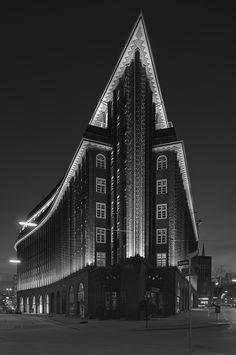 Fritz Hoeger | Chilehaus, Hamburg | 1922-24