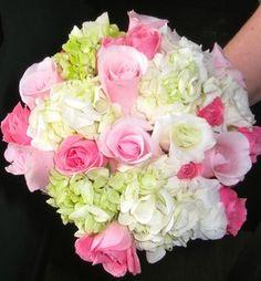 Wedding, Flowers, Pink, Bridesmaids - Bridesmaid's bouquet